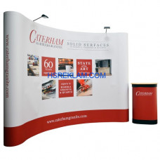 Pop Up Stand Oval 3x4 (4 Panel)