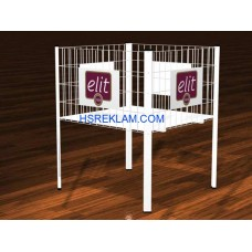 Metal Stand Tel Sepet - 02