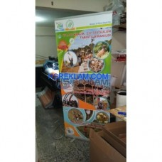 Roll Up Banner Tek Taraflı 100x200